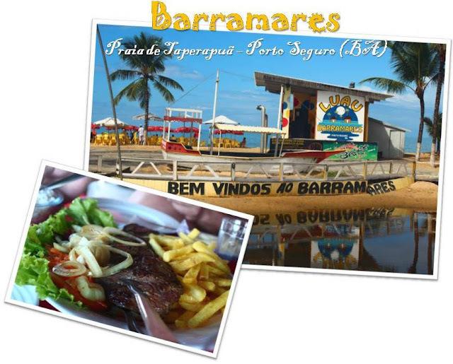 Porto Seguro (BA): Almoço no Barramares