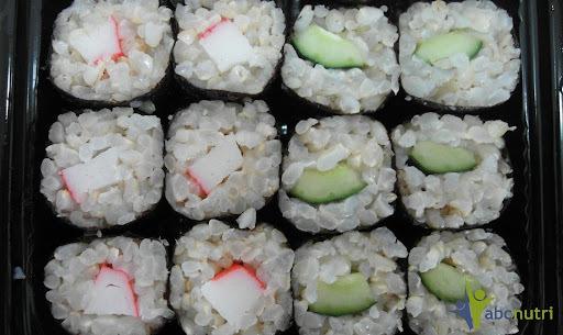 Sushi doce