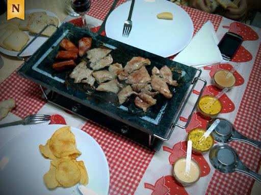 bifes de porco no forno