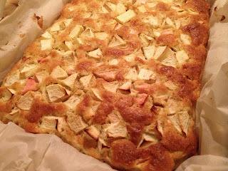 Havre Æblekage