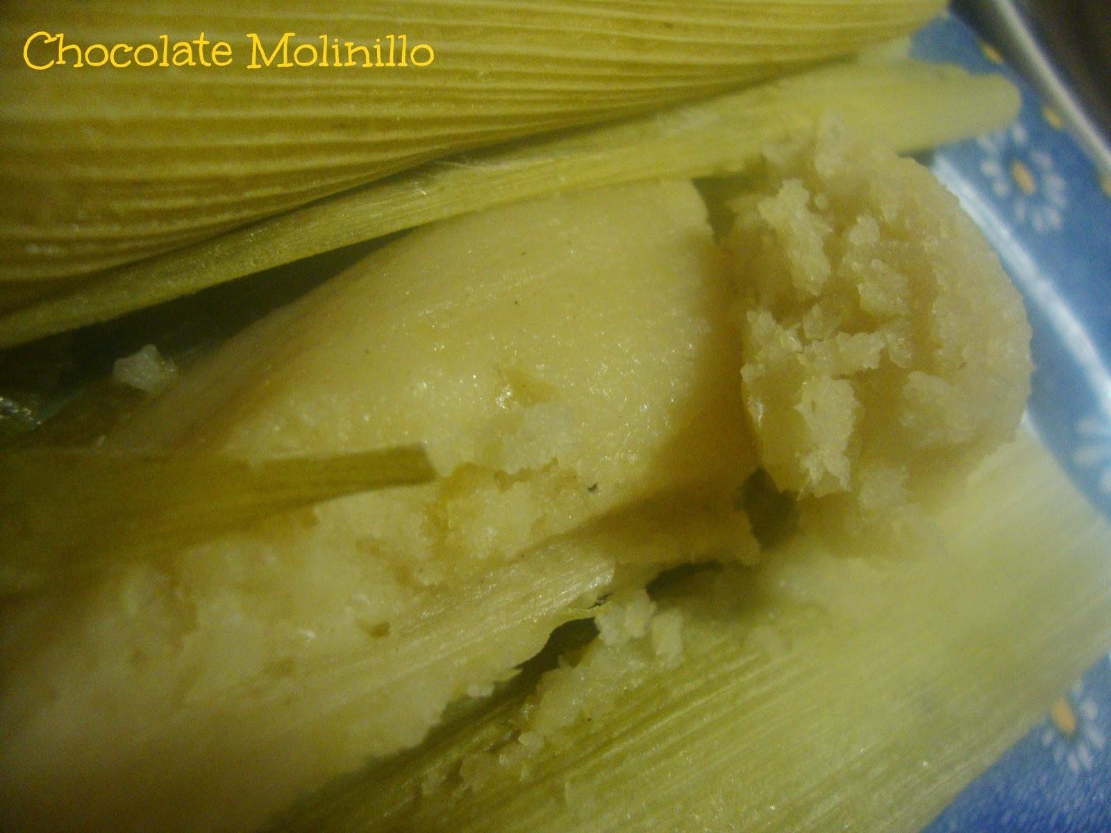 Tamales de Elote Dulces