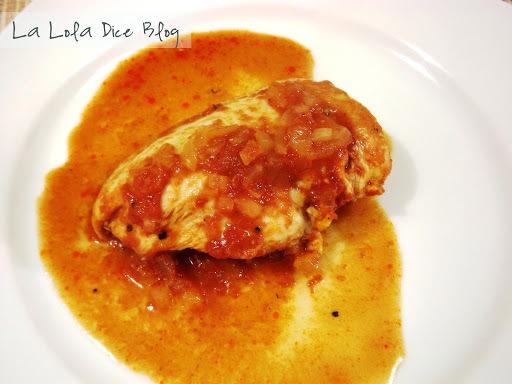 Pollo a la Catsup (Ketchup)