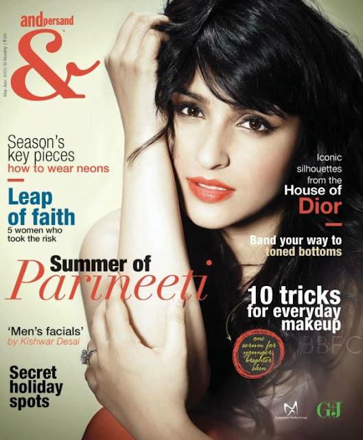 Parineeti Chopra on the cover of Andpersand - May/June 2013