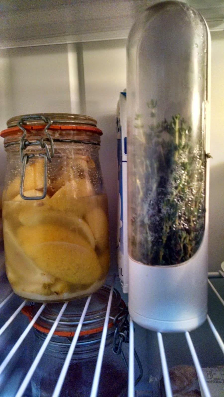 Conserva de limões sicilianos e sal