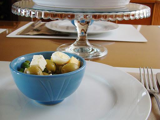 Ideias para almoço em família + saladinha morna + batatas recheadas