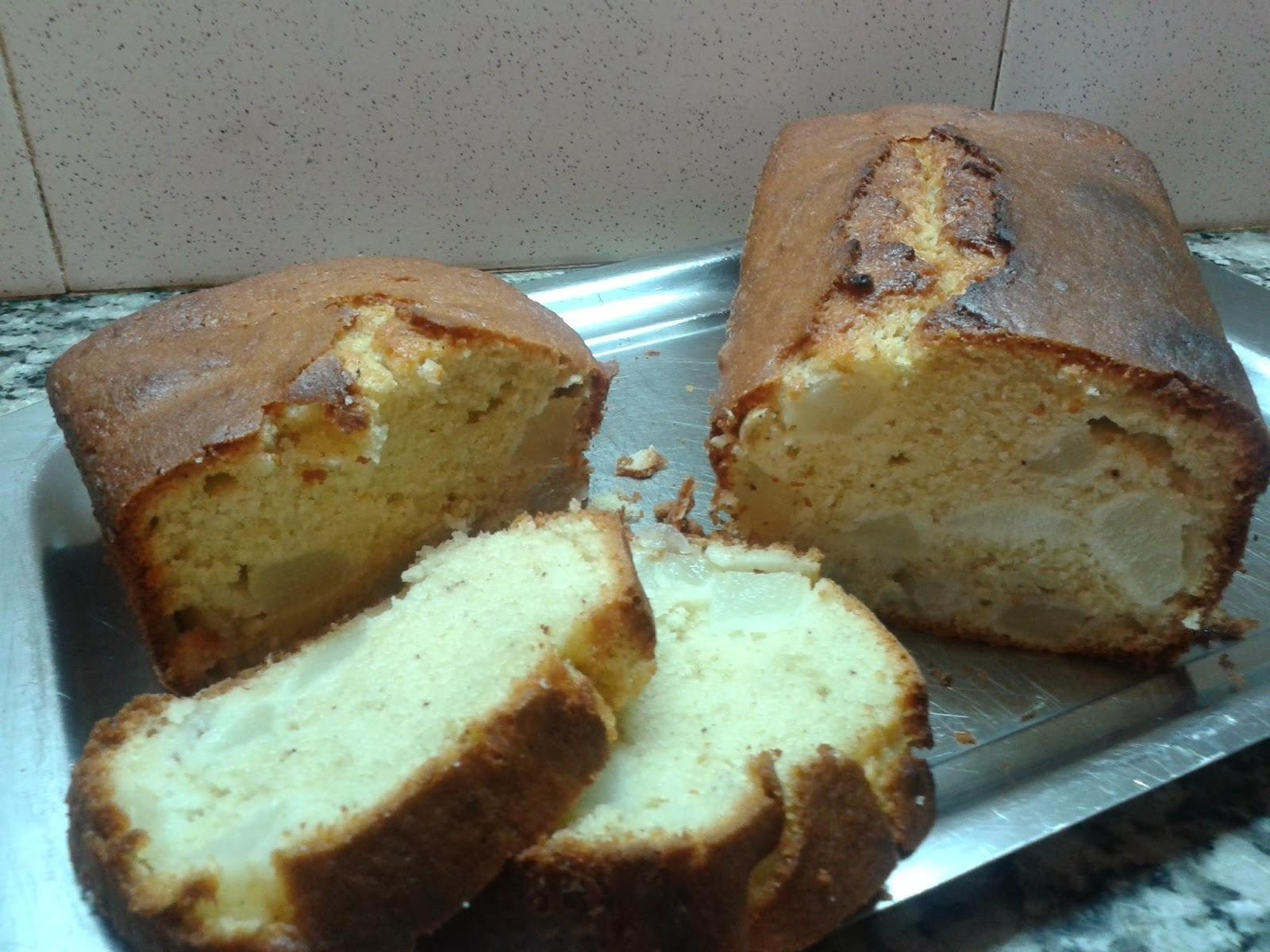 PLUM CAKE DE PERAS Y ESPECIAS