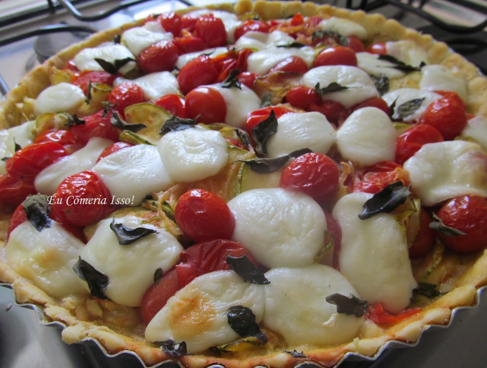 Torta Vegetariana de Verão