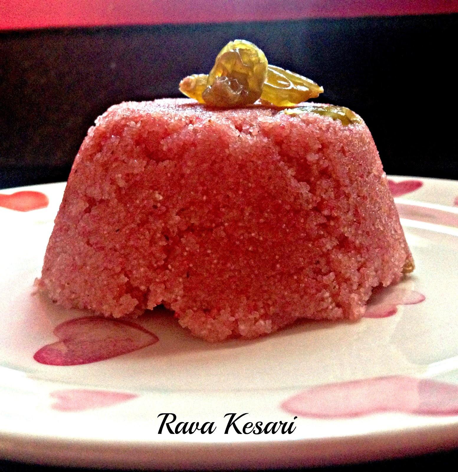 Rava kesari  |  Sooji Halwa  |  Semolina hob cake  |  Kukskitchen