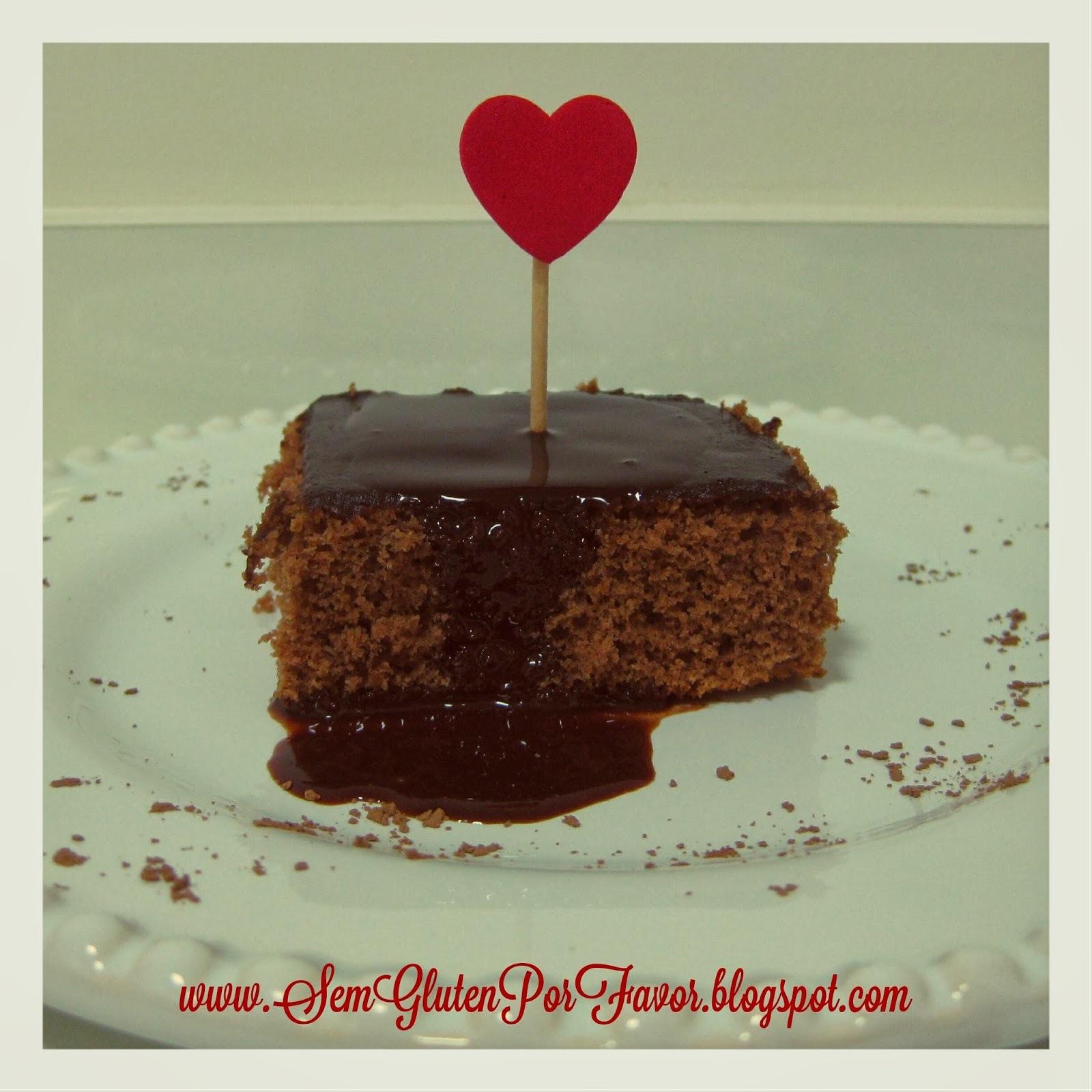 Receita de hoje: bolo de chocolate fácil