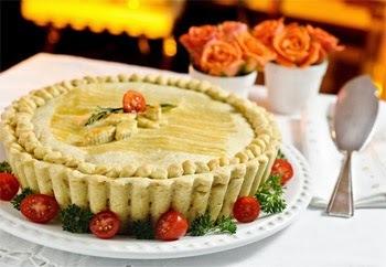 Torta Clássica de Bacalhau