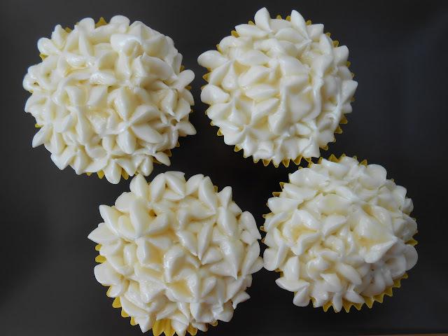 Cupcakes de plátano y miel