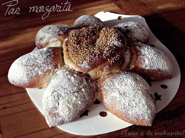 Pan margarita a las cuatro especias