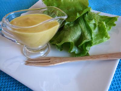 Molhinho de pêssego e mostarda para salada