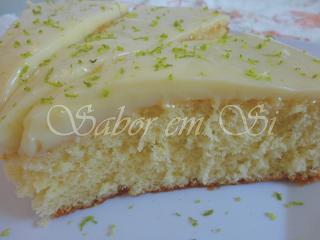 bolo verde de limão com massa pronta