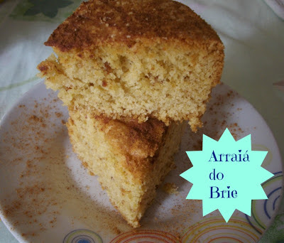Arraiá do Brie - Bolo Paçoquinha e Presentes