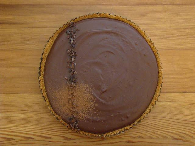 Dos x Uno: menú dulce para las fiestas. Tarta Bavarois de chocolate y Torta rústica de durazno