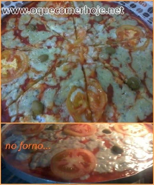 massa de pizza de frigideira da palmirinha