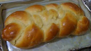Trança de leite condensado (pão doce)