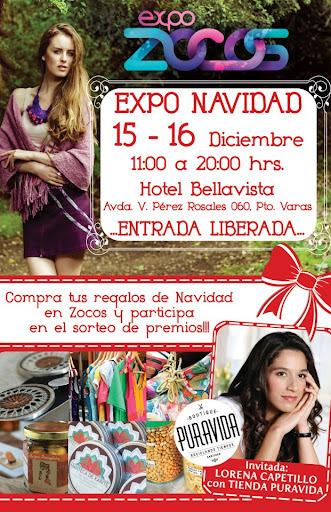 Expo Navideña en Hotel Bellavista de Puerto Varas el próximo fin de semana!