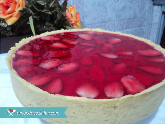 Passo a Passo: Torta de morango