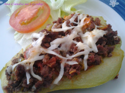 suflê de legumes com carne moida light