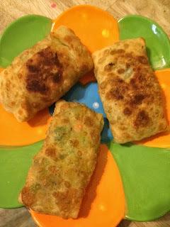 Stuffed Vegetable Rolls