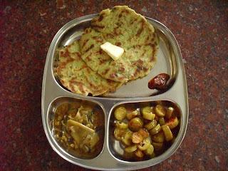 GOING BANANAS - Baalekai Bhakri - Raw Banana Flatbread