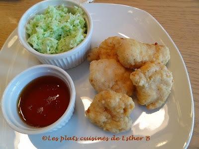 Croquettes de poulet (style McDonald's)