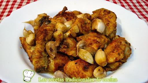 Receta fácil y rápida de pollo al ajo