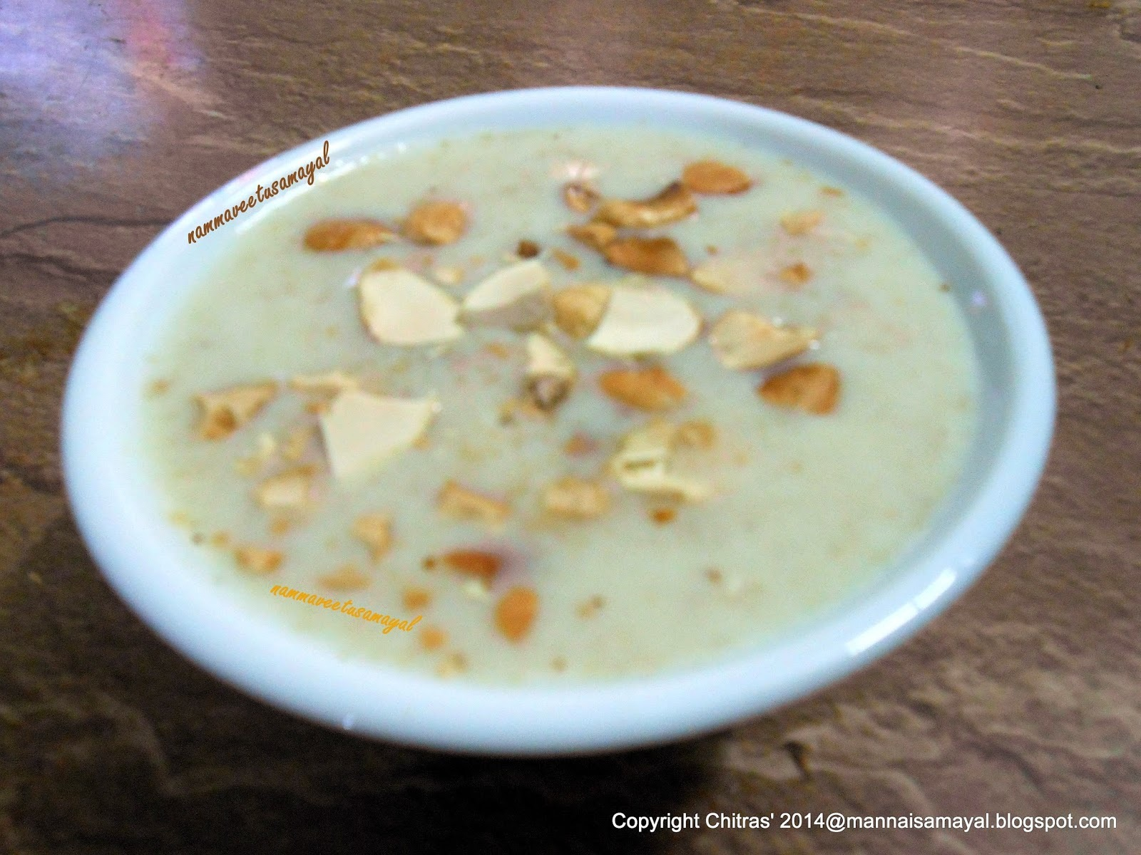 Thinai Milk Payasam
