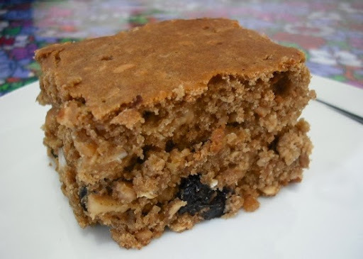 bolo de aveia e granola sem acucar