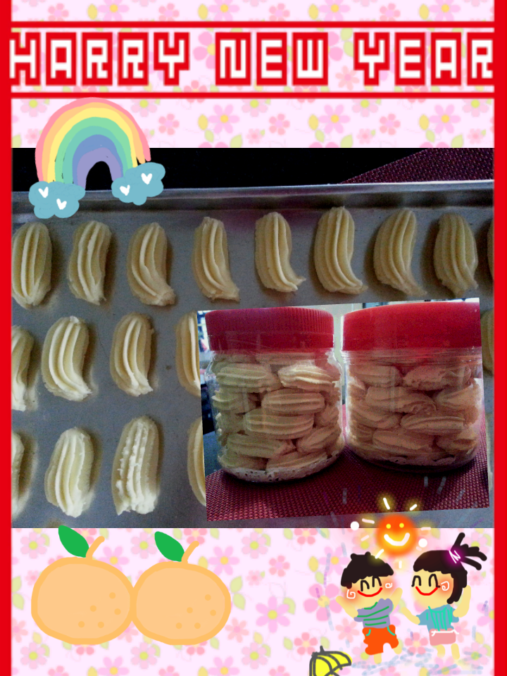 过年咯!奶油小酥饼◆◆杏仁酥饼