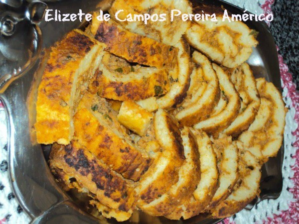 Rocambole de arroz: Elizete de Campos Pereira Américo