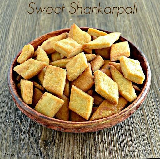 Sweet Shankarpali - Shakarpara - Shakarpare