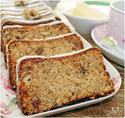 bolo de banana farinha de trigo e rosca de liquidificador