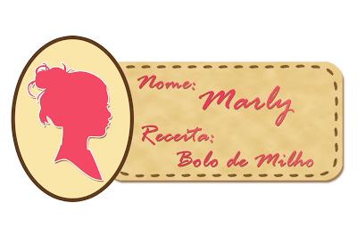 Doces Chefs: Bolo de Milho da Marly