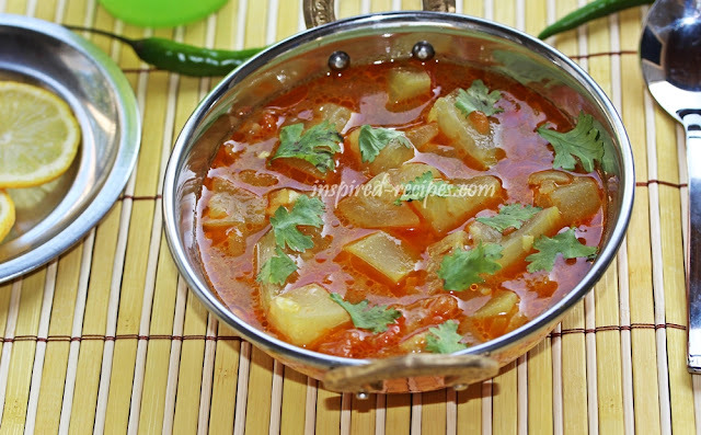 Bottle Gourd Curry(Lauki Sabzi)