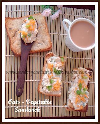 Oats - Vegetable Sandwich