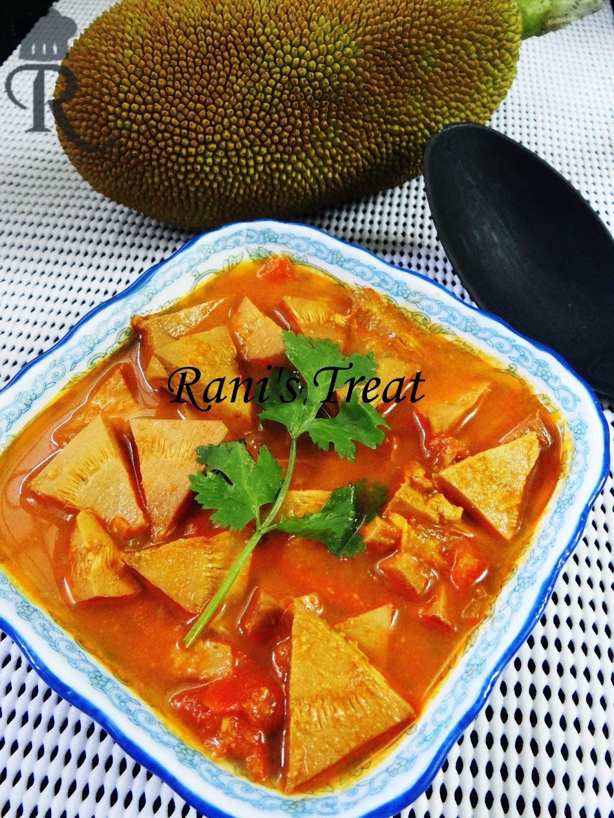 Raw Jackfruit Curry | Raw Jackfruit Gravy | பலாக்காய் குருமா