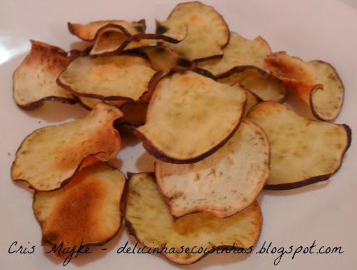 Chips de Batata Doce