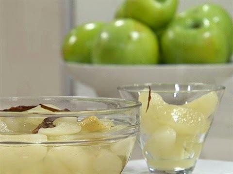 Como hacer compota de manzana rapida