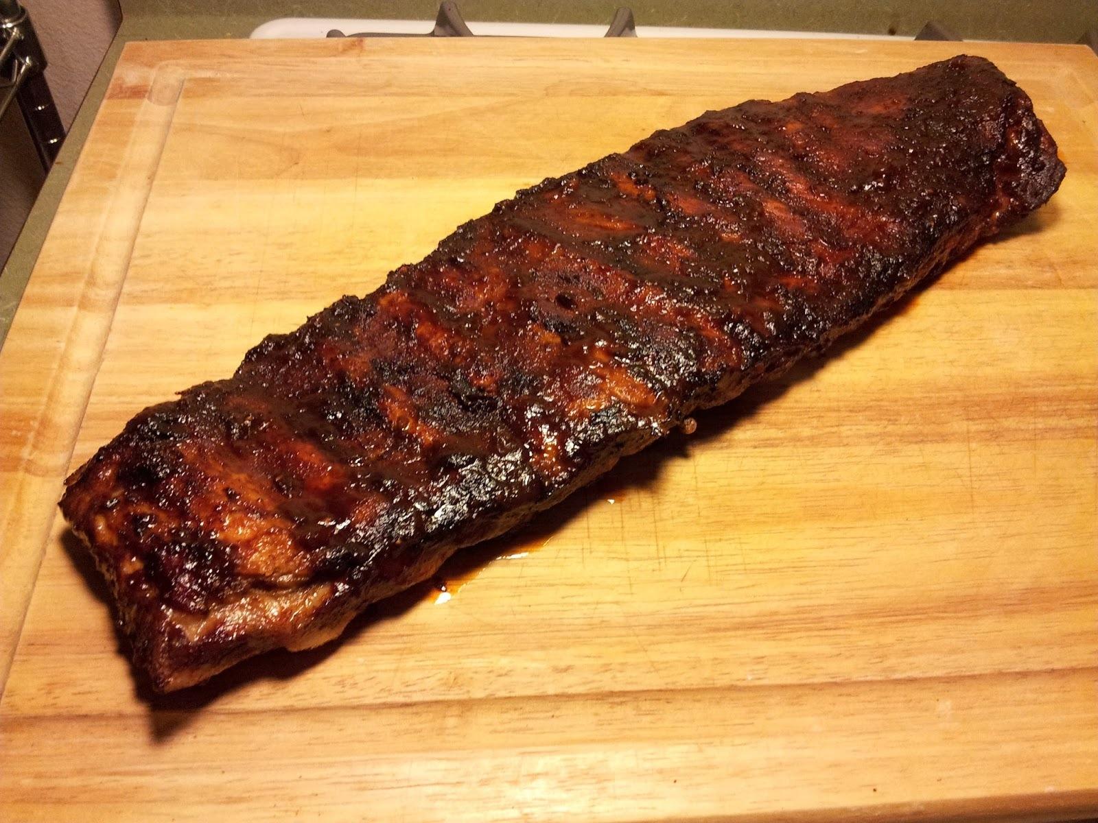 Costillitas de cerdo con salsa barbacoa (BBQ Baby back ribs)