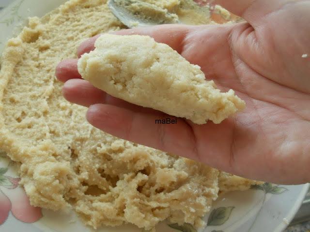 Mazapan cocido casero