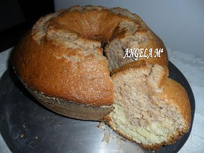 de bolo de farinha de trigo na batedeira bolo mesclado