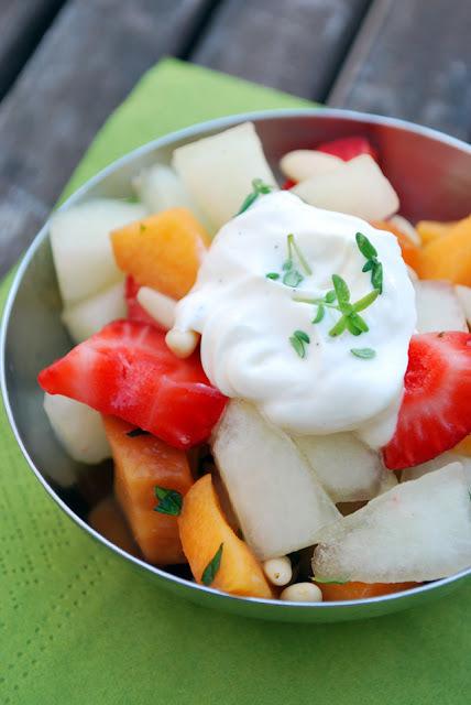 {memòries d'una cuinera} macedonia: ensalada de frutas de verano a la vainilla