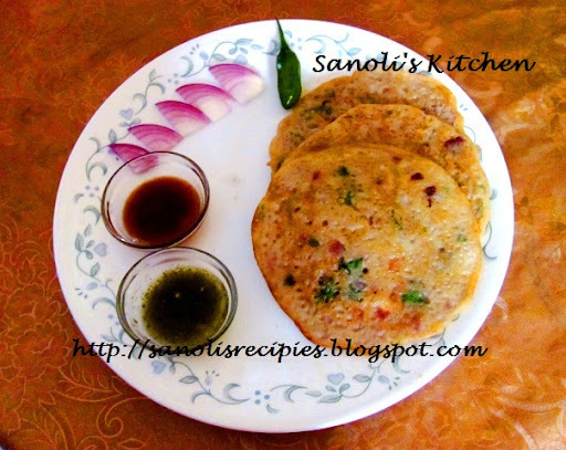 LEFTOVER RICE CHILLA / PANCAKE