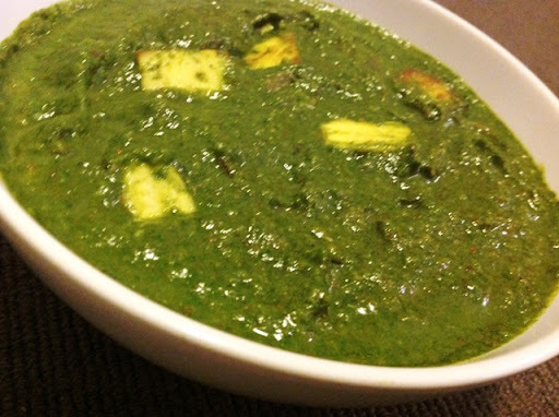 All time favorite Palak Paneer (Saag Paneer)