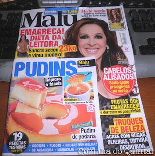 Revista Malu da Semana: Pudins!!