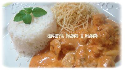 Estrogonofe de Frango / Chicken Stroganoff