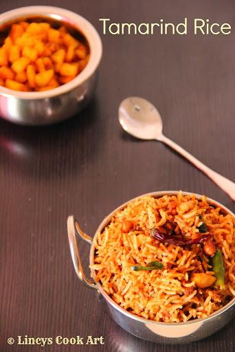 Tamarind Rice/ Puliogare/ Puliodharai/ Puli Sadam/ Puli Choru